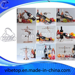 2015 China New Innovative Wine Display Rack (WR-01) pictures & photos