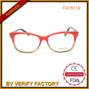 High Quality Red Color Acetate Optical Frames pictures & photos