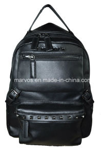 Fashion Lady Leather Backpack with Hight Quality /China Wholesale (M10531) pictures & photos