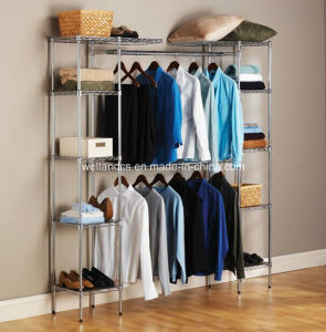 Modern Free Standing Expandable Bedroom Closet Organizer pictures & photos