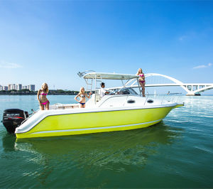 30′ Fiberglass Speed Fishing Boat Yacht for Sale pictures & photos