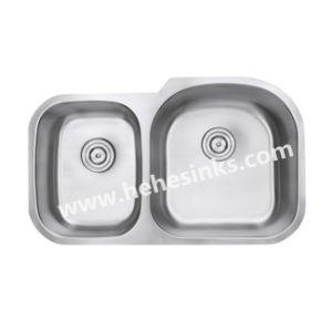 Undermount Kitchen Sink, Double Bowl Stainless Steel Sink, Handmade Sink, Sink pictures & photos