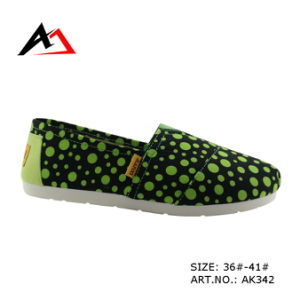Injection Shoes Comfoetable Colorful School Canvas Boots for Women (AK342) pictures & photos