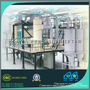Full Automatic Complete Set Rice Flour Mill Machine pictures & photos