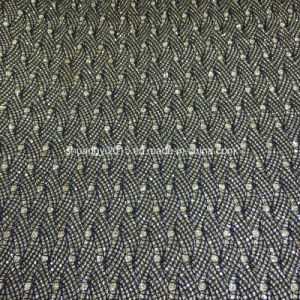 High Quality Glitter PU Leather for Shoes Bags pictures & photos