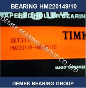 Hot Sell Timken Inch Taper Roller Bearing Hm220149/10 Set317 pictures & photos