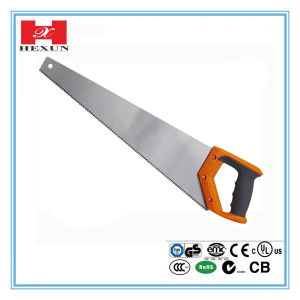 "High Quality Wood Cutting Hand Tools Hand Saw 16""/18′/20""/22""/24"" for Gardening & Trees pictures & photos"