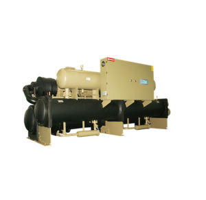 Water-Cooled Screw Flooded Chiller with R22 Refrigerant pictures & photos