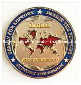 Challenge Coin (MJ Coin 122) pictures & photos
