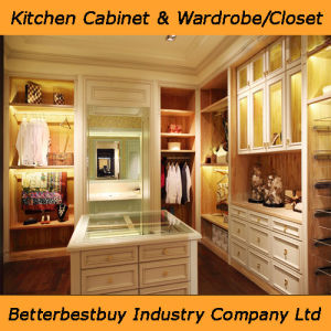 Partical Board Material Wardrobe with Drawer pictures & photos