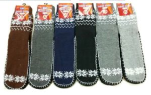 2016 Men Knee Knit Indoor Floor Slippers Socks pictures & photos