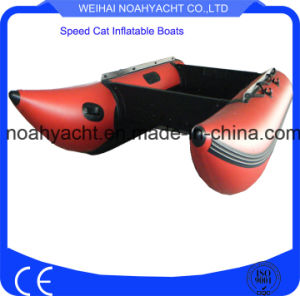 Plywood Floor Foldable PVC Inflatable Speed Boat RC Boats pictures & photos