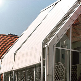 Outdoor Motorised Roof Sunshade pictures & photos