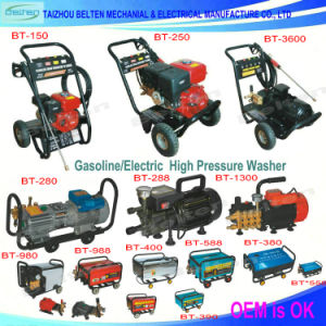 Gasoline Powered Car Washer Pump High Pressure Portable Washing Machine pictures & photos