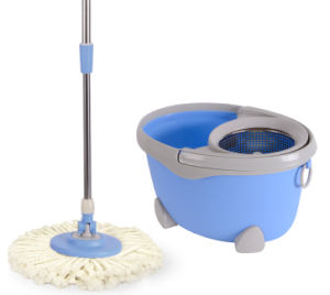 Egg Shape Design Spin Mop Withno Pedal Foot 1703 pictures & photos