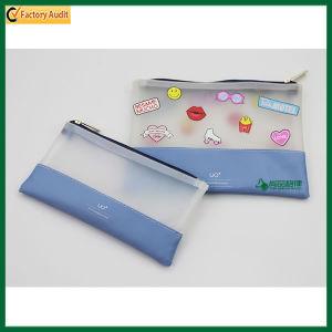 Cute Fashion Zipper Stationery Bag TPU Pencil Bag Pouch Bag (TP-PCB018) pictures & photos