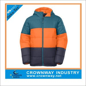 Boys Puffer Snowboard Winter Down Jacket for Sale pictures & photos