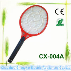 Flash Design Windmill Pattern Electric Mosquito Killer Racket pictures & photos