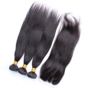 Straight Virgin Remy Hair Lace Frontal pictures & photos