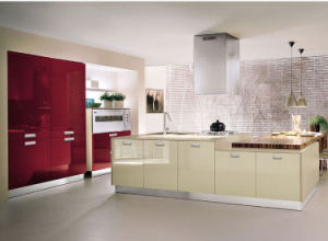 Ritz 2015 Hot Selling Modern High Gloss Lacquer Kitchen Cabinet pictures & photos