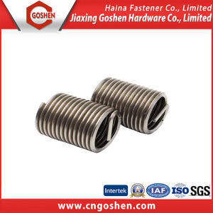 Fasteners Wire Thread Inserts, SS304 SS316 DIN 8140 pictures & photos