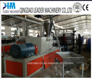 PVC Plastic Sheet Extruder Machine Extrusion Production Line pictures & photos
