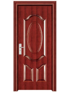 PVC Faced MDF Cheap Hollow Core Doors pictures & photos