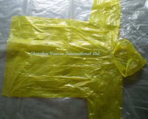 Disposable Long Raincoat with Hood String pictures & photos