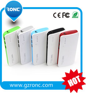 6600mAh Mobile Portable RoHS Power Bank with LCD Digital Display pictures & photos