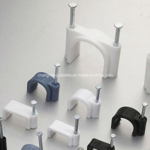 Cable Clips (PE, WHITE, 7mm) pictures & photos