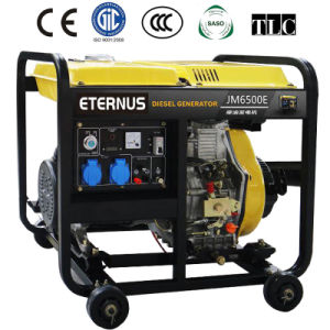 Cost Effective Diesel Generator with Battery (BM6500XE) pictures & photos