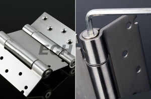 Spring Fuction 5 Inch Stainless Steel Hydraulic Hinge (H507)