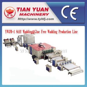 Nonwoven Machinery/Stiff Wadding Line/Glue Free Wadding Line pictures & photos