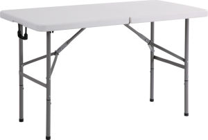 4FT Plastic Rectangle Folding Table, Dining Table, Camping Table pictures & photos