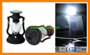Dynamo Portable Solar Light with FM Radio pictures & photos