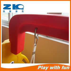 Indoor Kids Playground Rabbit Plastic Slide Type Plastic Slide and Swing Toys pictures & photos