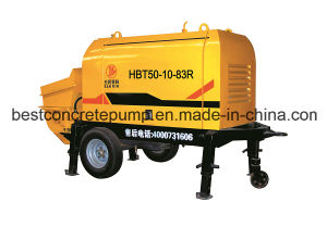 Diesel & Electric Hbt50-10-83r Mini Portable Concrete Hydraulic Pump