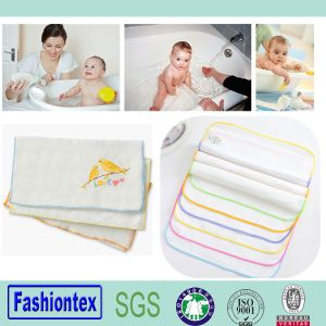 High Quality Cotton Baby Muslin Square pictures & photos
