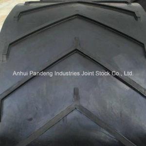Cema/DIN/ASTM/Sha Standard Anti-Slip Chevron Pattern Conveyor Belt/Pattern Conveyor Belt pictures & photos