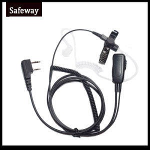 Walkie Talkie Air Tube Headset for Kenwood pictures & photos