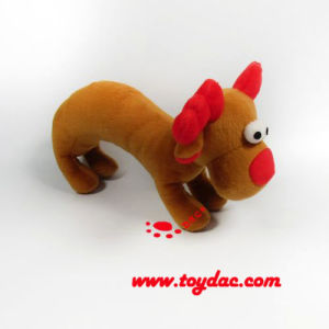 Plush Christmas Reindeer Rattle pictures & photos