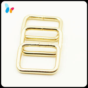 High Quality Rectangle Gold Metal Loop for Bag pictures & photos