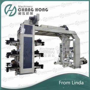 6 Color 1000mm Flexo Printing Machine Price pictures & photos