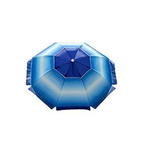 7 Foot Sunbrella Outdoor Patio Camping Beach Umbrella with Sand Anchor