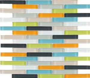 Mix Color Glass Mosaic Tile for Decoration pictures & photos
