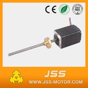 NEMA11 Linear Stepper Motor 28mm, 0.67A with Lead Screw Tr5*2 in China Factory pictures & photos