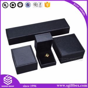 Luxury Ribbon Leather Velet Wooden Paper Jewelry Box pictures & photos