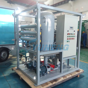 Double Stage Vacuum Transformer Oil Dehydration and Degasification Equipment pictures & photos