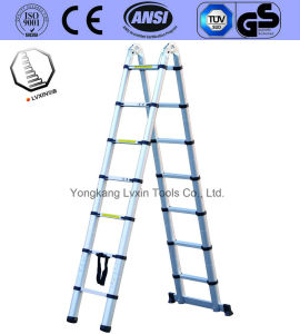 Competitive Aluminium Multipurpose Ladder of 7 Steps pictures & photos