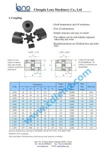 Finished Bore Hydraulic Motor Pump L095 Coupling and Insert pictures & photos